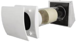 HRU-WALL én-rums ventilation